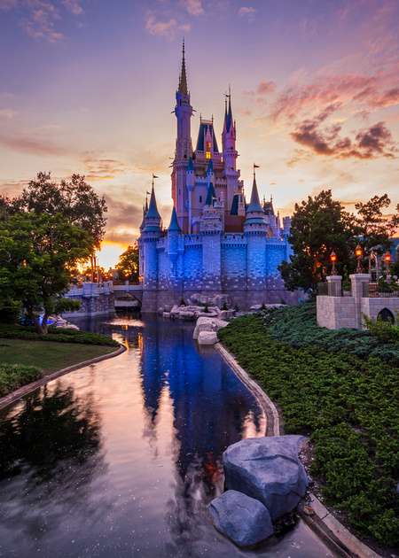 MLCreations Photography: Magic Kingdom &emdash; Castle Sunset