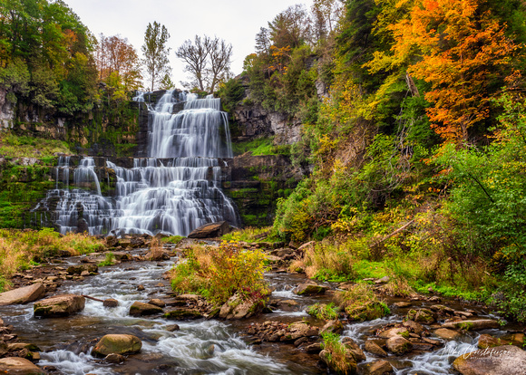MLCreations Photography: Blog Post Related &emdash; Autumn Falls at Chittenango