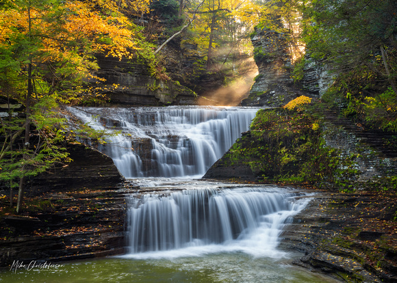 MLCreations Photography: Buttermilk Falls &emdash; Buttermilk in Autumn