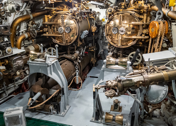 MLCreations Photography: Blog Post Related &emdash; Aft Torpedo Room