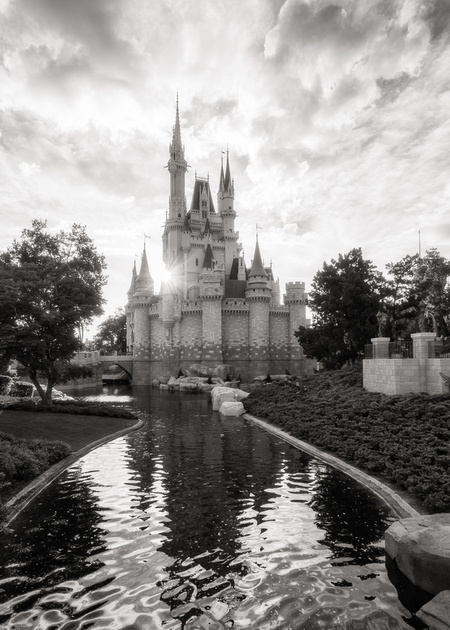 MLCreations Photography: WDW in B&W &emdash; Living in a Dream