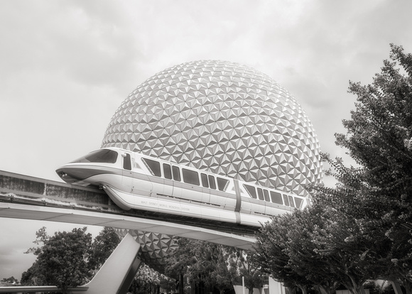 MLCreations Photography: WDW in B&W &emdash; Future Dreams