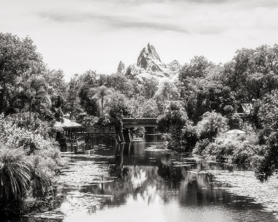 MLCreations Photography: WDW in B&W &emdash; Mountain Dreaming