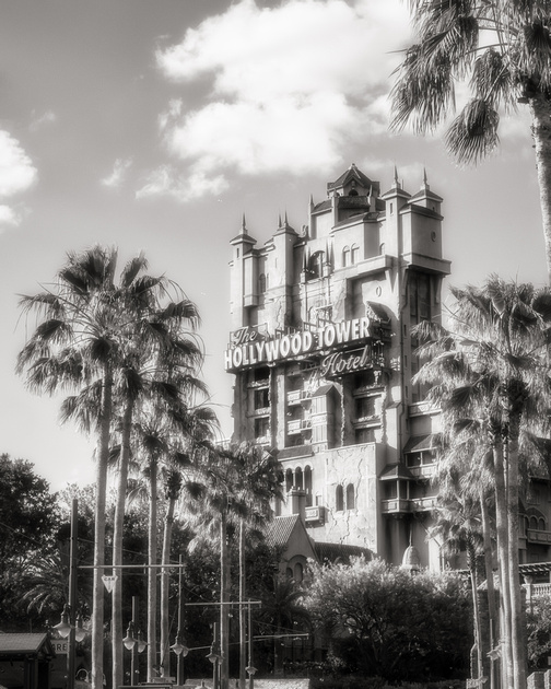 MLCreations Photography: WDW in B&W &emdash; Hollywood Dreams