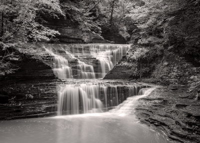 MLCreations Photography: Buttermilk Falls &emdash; Summer Cascade