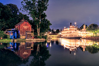 Night Along the Rivers of America