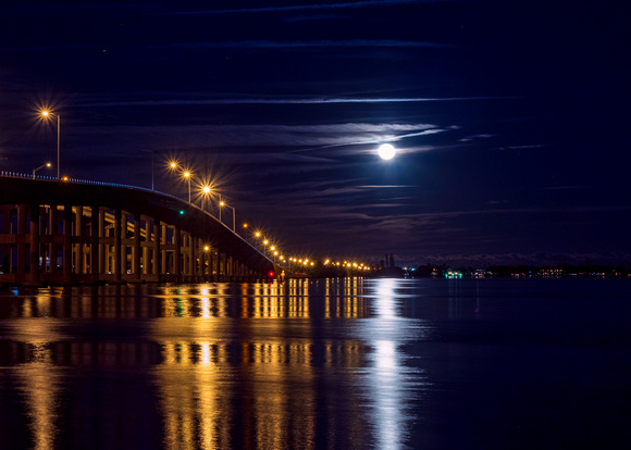MLCreations Photography: Florida &emdash; Moonrise Over Indiatlantic